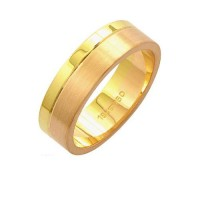 Alliance Gold y Gold 18k Red 750 Ancho 6.00mm Altura 1.50mm