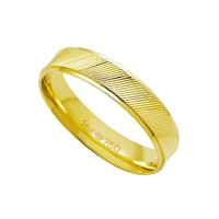 Anatomical Alliance Gold 18k 750 Width 4.50mm Height 1.30mm
