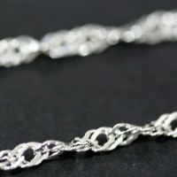 Current Silver 925 Locked 60 cm / 1 mm