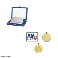 Pendant or Plaque with Engraving Logo of your Company or Product