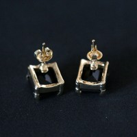 Earring Gold Plated Jewelry Semi Dona Flor