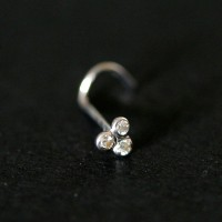 Piercing 18k White Gold 0750 Light Trio