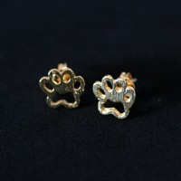 Earring Gold Plated Jewelry Semi Pata