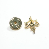 Bottom Pin Gold Plated Right