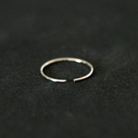 Piercing 316L Surgical Steel Nose Ring Nostril 0.5mm x 8mm