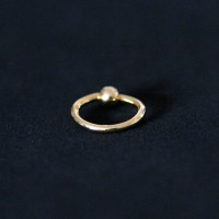 Piercing 18k Gold Plated Captive 1.2mm x 8mm
