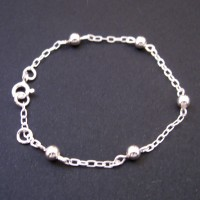 Bracelet Silver 925 on the Ball