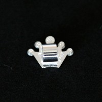 925 Silver Crown Pendant for Bracelet Moments of Life