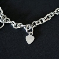 Portuguese Children's Bracelet Steel Heart