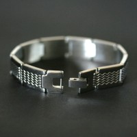 Worked with Steel Bracelet Details