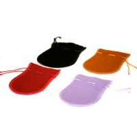 Velvet Bags Small Assorted Colors