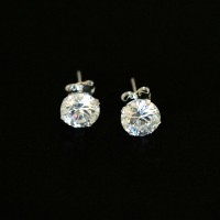 925 Silver Earring with Stone Zirconia