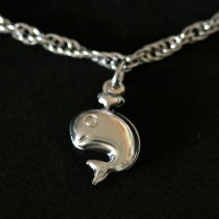Steel Bracelet Turtle, Sea Horse, Fish, Squid and Whale