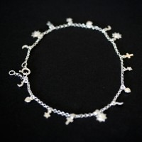 Anklet 925 Silver Mystic