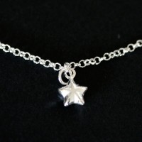 Silver Star Anklet Portuguese Summer Collection