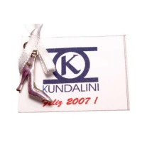 Printed Shoe Pendant and TAG Logo and Company Information (Great for Gift)